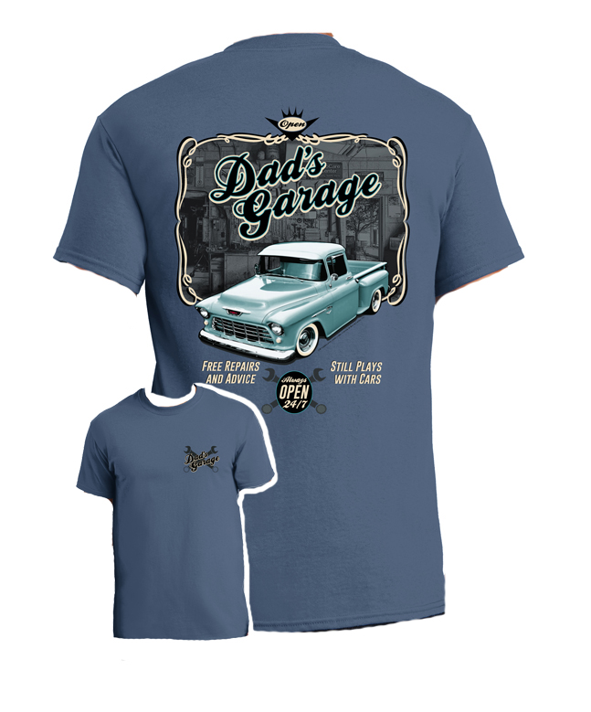 Chevy T Shirts >> Dad S Chevy Truck T Shirt