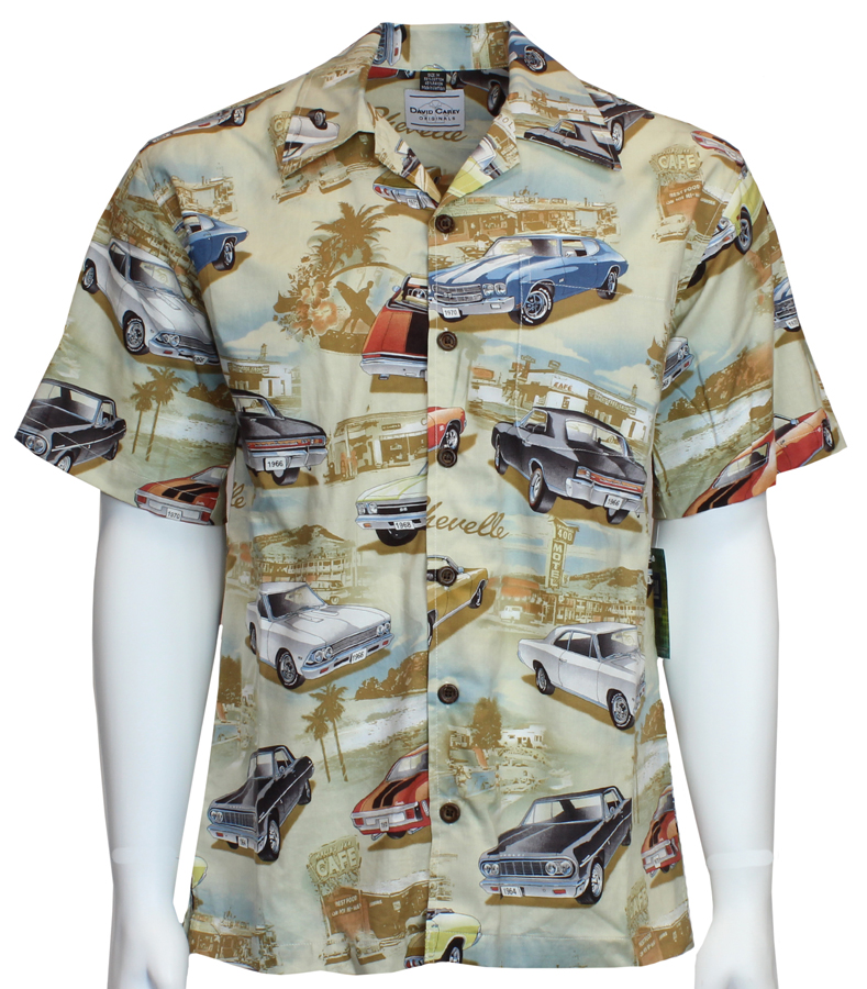 Chevy Chevelles Camp Shirt